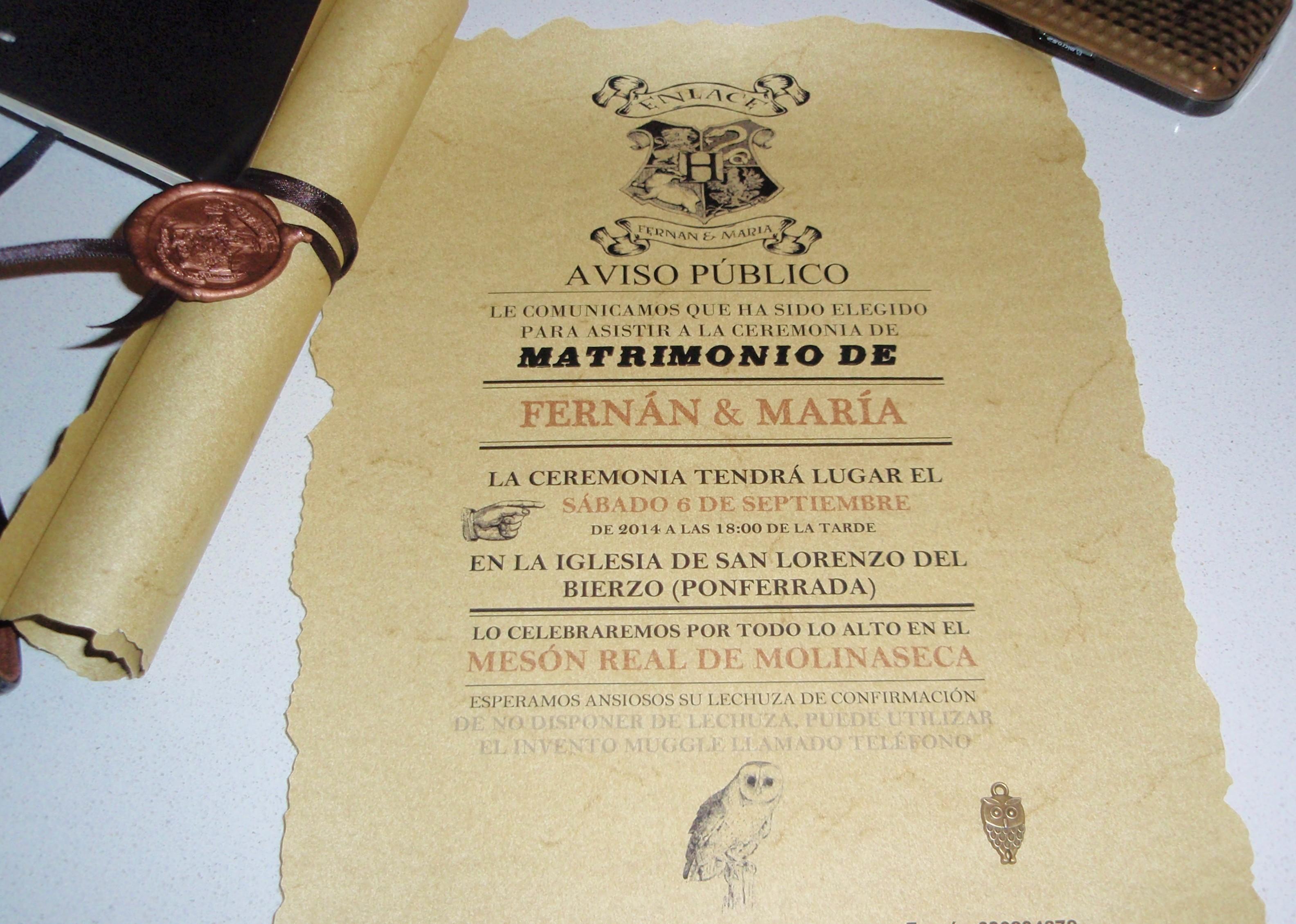 invitaciones boda originales Archives - Bodas Ponferrada: Boda de Nano y María